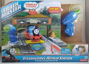 Thomas & Friends Sodor TrackMaster Steamworks Repair Station Brand New