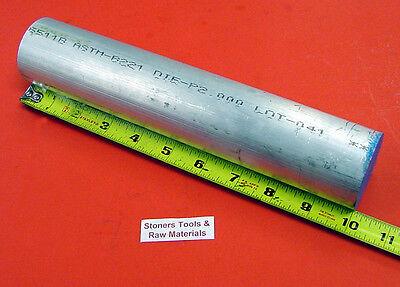 2 Aluminum Round Rod 6061 Bar 10 Long Solid T6511 Extruded Lathe Bar Stock