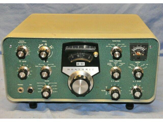 Heathkit SB-102 HF Transceiver 80-10 Meters Tested Clean & Working