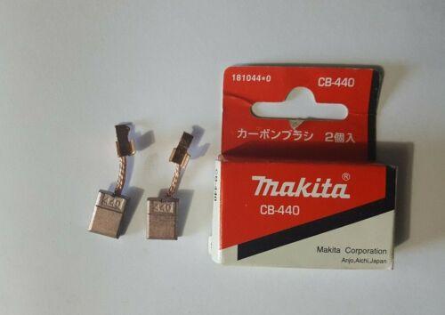 Makita CB-440 Carbon Brush Set For Most Makita 18V Cordless Tools 3x10x13.5mm