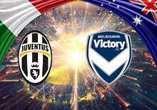 2 x Tickets for Melb Victory vs Juventus on the 23rd July Melbourne CBD Melbourne City Preview