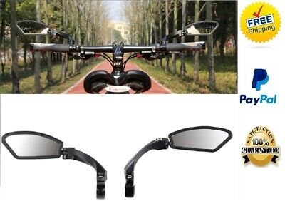 Mirror Mtb Bicycle Handlebar View Rear Bike Rearview Side Mountain Safe Best (Best Bicycle Rear View Mirror)