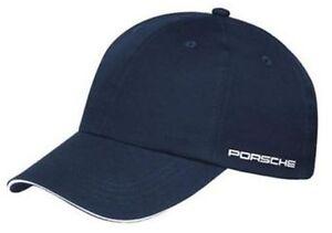 Porsche Selections Classic Baseball Cap with Logo Blue Genuine Merchandise