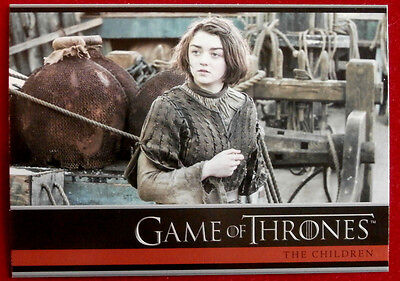 GAME OF THRONES - Season 4 - Card #30 - THE CHILDREN C - Rittenhouse 2015
