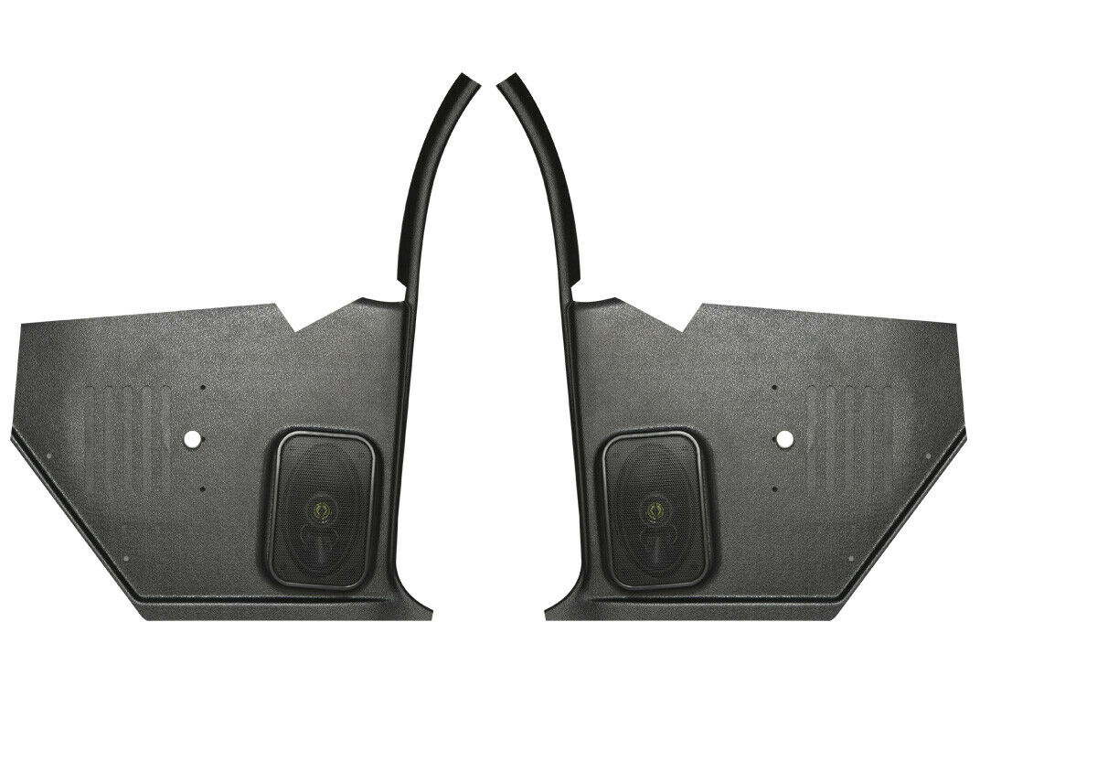 67 68 Camaro Kickpanels Speakers Custom Autosound with 80 Watt Speakers