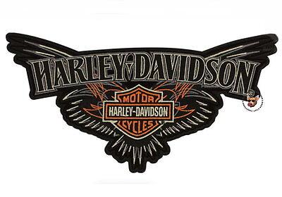 HARLEY DAVIDSON PINSTRIPING BAR & SHIELD VEST * 2XL *PATCH OBSOLETE DESIGN