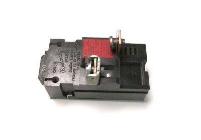 Pushmatic Circuit Breaker 20a 1p 120240v Cat P120 .. Zf-31e