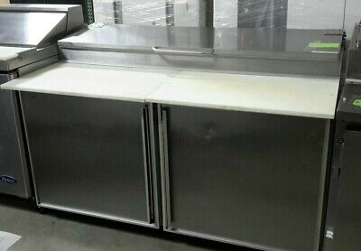 Used Silver King Skpz60 60 Refrigerated Pizza Prep Table