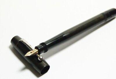 RARE Vintage German Mercedes Safety Pen/ Fountain Pen gold nib