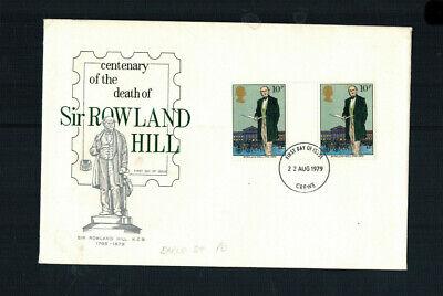 FDC-1209**Great Britain - 1979 - Rowland Hill, Scott #871** Stuart Cover
