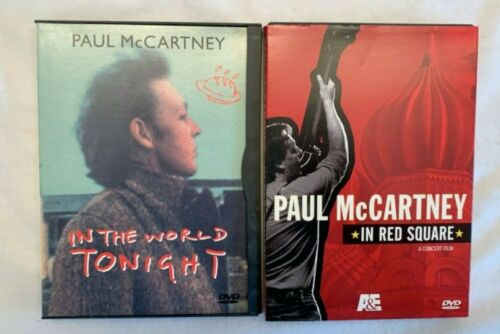 Paul McCartney In Red Square and In The World Tonight DVDs
