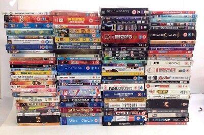 Job Lot of 100 Mixed Film & TV DVD BOX SETS - Perfect  for Car Resale