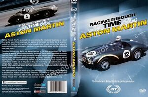 RACING THROUGH TIME. THE HISTORY OF ASTON MARTIN'S RACING PEDIGREE. NEW DVD