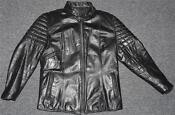 Mens Vintage Leather Cafe Racer Jacket