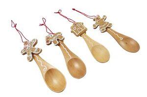 Gisela-Graham-Christmas-Tree-Decorations-Set-of-4-Gingerbread-Spoon-Decoration