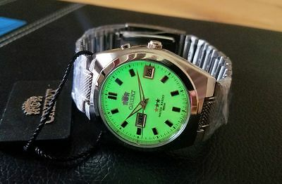 Orient Classic Dress Watch Automatic Full Lume Dial Watch FREE US SHIPPING