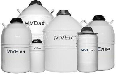 Brymill Mve Liquid Nitrogen Storage Tank 10 Liter 6-8 Week Holding Time 501-10