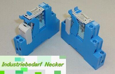 4C.01.9.024.0050 - 4C Finder Koppel Relais 24V DC 1 Wechsler 16A