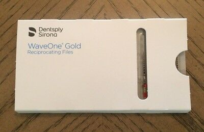 Genuine New Dentsply Wave One Gold Endodontic Reciproc Files Primary 25mm