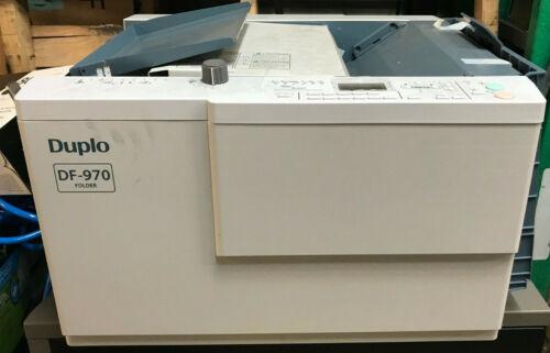 DUPLO DF-970 Automatic Folder - New No Box