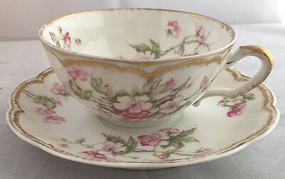 Haviland Limoges France - Antique Tea Cup and Saucer set - lot #3