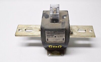 USED Schlumberger Current Transformer Serial No: 17614338 600:5A FREE SHIPPING