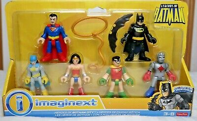 Fisher-Price Imaginext Heroes of Gotham City 6 Pack Legends of Batman NIB
