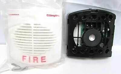 Simplex Truealert Addressable Fire Alarm Electronic Horn New 4901-9853