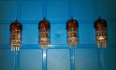 4* 6N3PJuni 1985 NOS NF Doppel Triode ~ 2C51 5670 WE396A Tube Amp Vorverstärker
