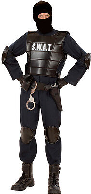 Special Police Officer SWAT Kostüm NEU - Herren Karneval Fasching Verkleidung - Herren Swat Kostüm