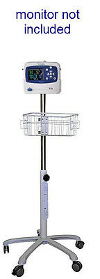 Rolling Stand For Welch Allyn Propaq Lt Patient New Small Wheel In Usa