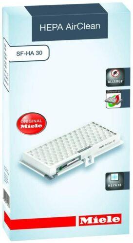 Miele Original Replacement Vacuum HEPA Filter SF-HA 30 Pack of 1 HEPA 13