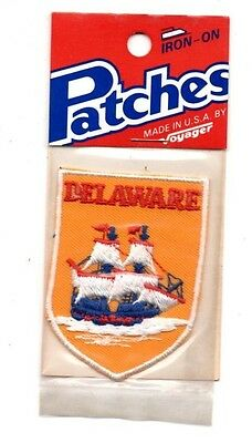Delaware Ship Voyager Travel Souvenir Patch - Brand New - Free Shipping