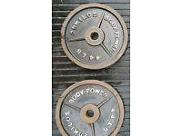 100kg Body Power olympic weight set