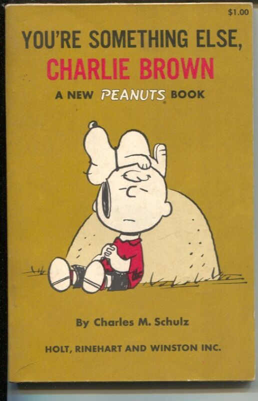 Your Something Else, Charlie Brown 1967-Charles Schulz art-reprints Peanuts d...