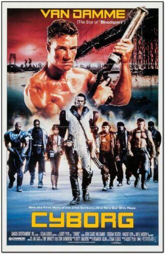 CYBORG - 1989 - original 27x40 Movie Poster - JEAN-CLAUDE VAN DAMME