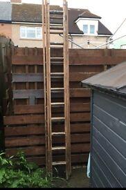Three tiered ladder