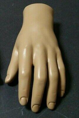Mn-handsm-wf Fleshtone Left Male Mannequin Hand Jewelry Display Fleshtone Only
