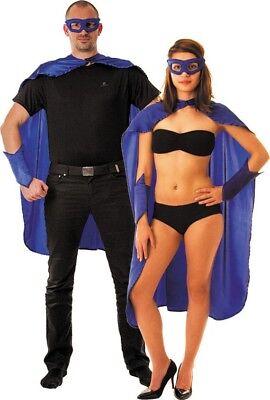 Superheldenkostüm für Frauen und Männer - blau Cod.75946 ()