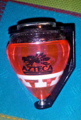 Mexican COMETA AZTECA Plastic Spin Top - (Trompo) with Holder & Piola- STD Size - Spin Tops