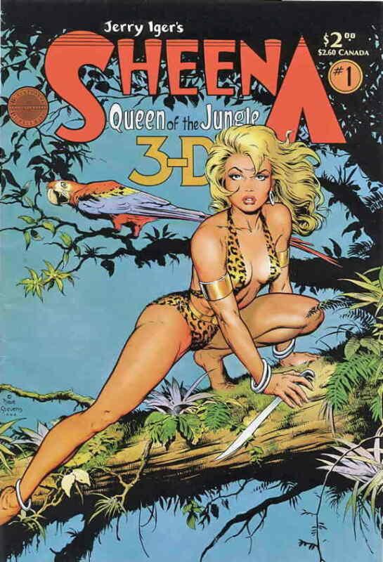 Sheena 3-D Special #1 VF; Blackthorne | save on shipping - details inside