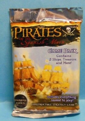 WIZKIDS PIRATES Pirates of the Spanish Main Unlimited Edition 1x Booster Pack