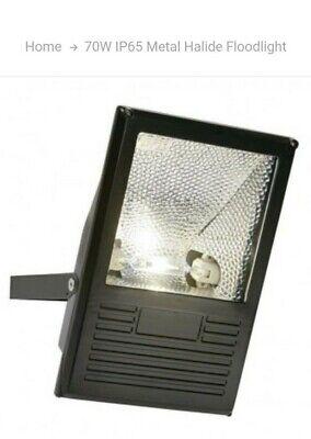 SAXBY LAM IP65 70W RX7S TD OUTDOOR FLOOD LIGHT 1350 BLACK