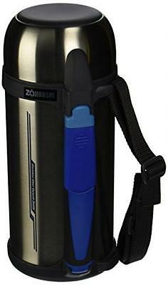 Zojirushi SF-CC15-XA 1.5L Thermal Stainless Vaccum Bottle Silver Japan Free ship