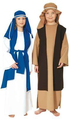 Heilige Jungfrau Maria Kinder Kostüm zu Weihnachten Krippenspiel