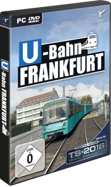 Train Simulator 2016 - U-Bahn Frankfurt - PC Game - *NEU*