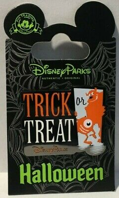 MONSTERS, INC. Trick or Treat Happy Halloween 2015 Disney Pin #110847