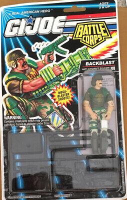 GI Joe Battle Corps Backblast 1992. Boxed.