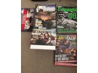 Carp magazines and fishing dvds for sale