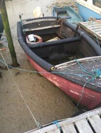 Mitchell open fishing boat